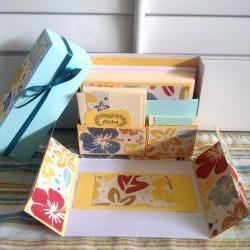 Stationey Box Set - Hawaiian Hibiscus