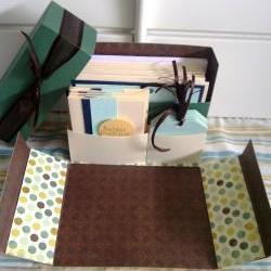 Stationery Box - Polka Dot Happy Birthday Set